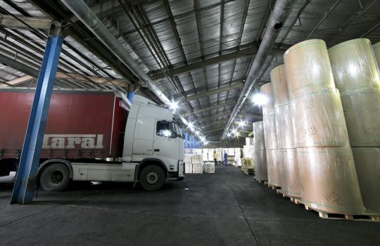 Exporting bagasse pulp to Syria